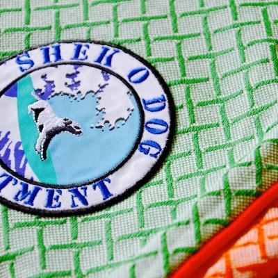 Green Cross Orange Details