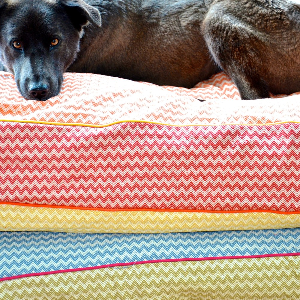 Bespoke Dog Bed Cover – ZigZag