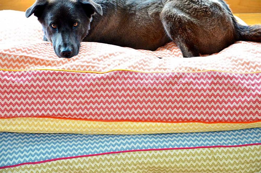 Linen-cotton Dog beds