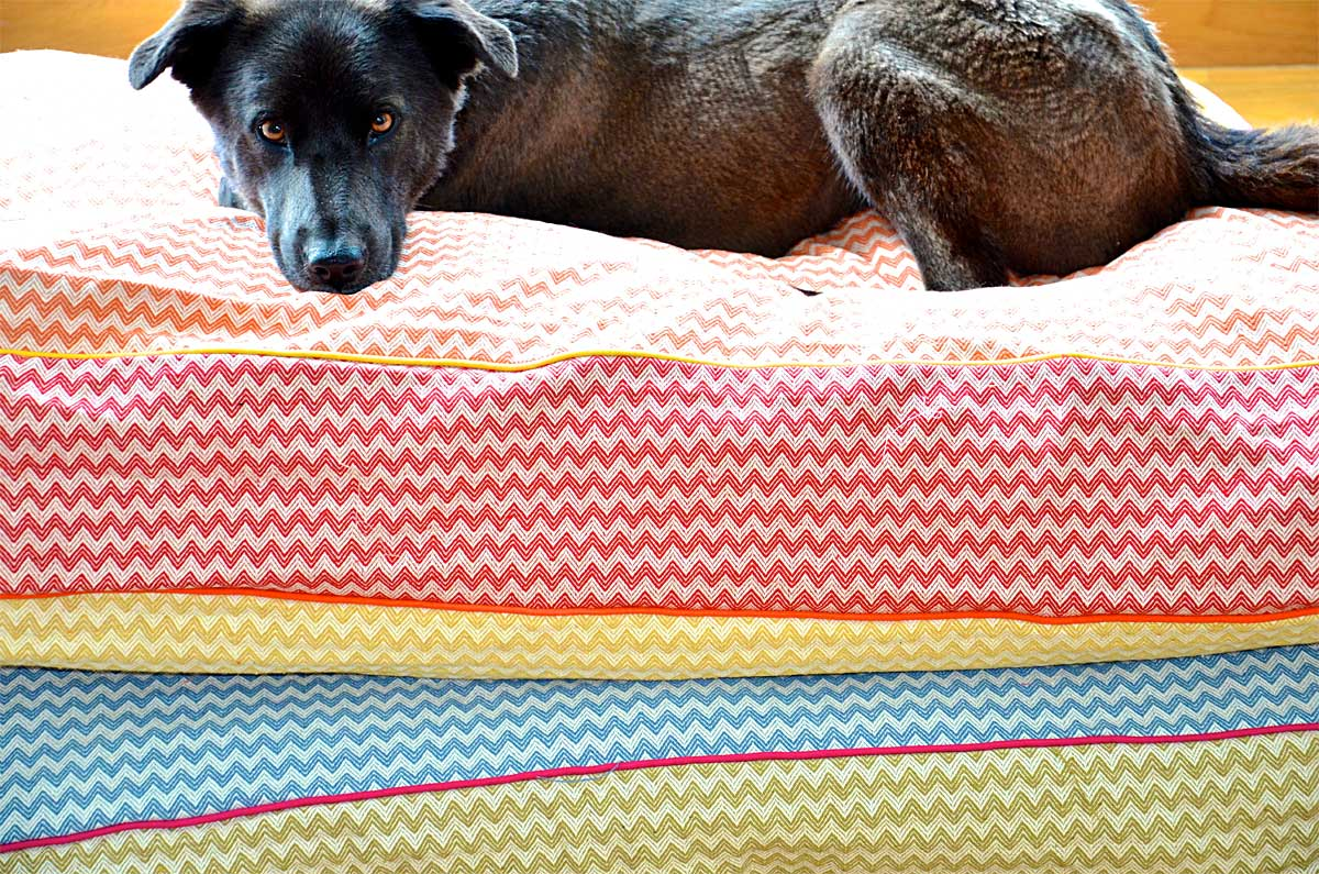 Linen-cotton Dog beds