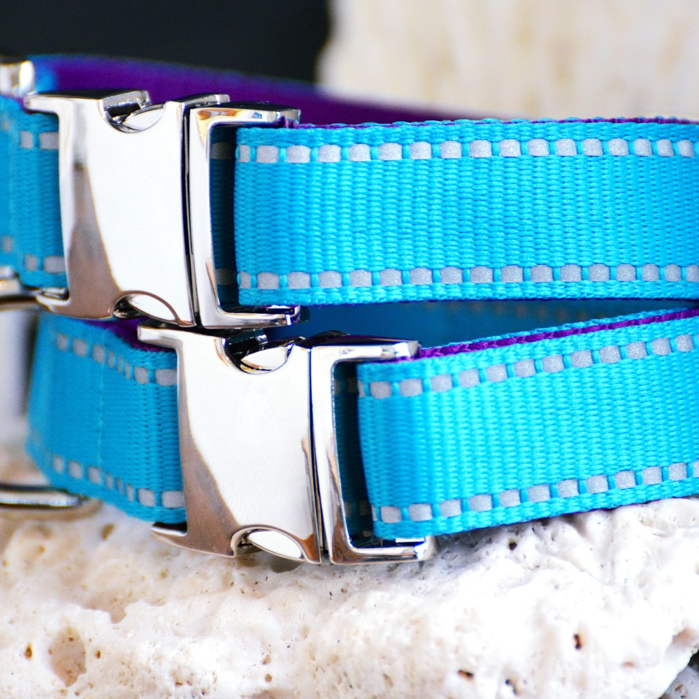 "Reflective Collar ""My Way"" (25 – 37cm)"