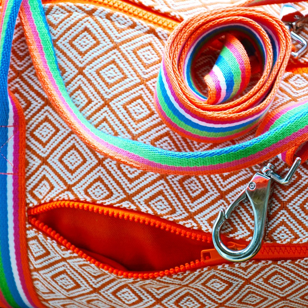 "Yoga Tote ""Happiness!"""