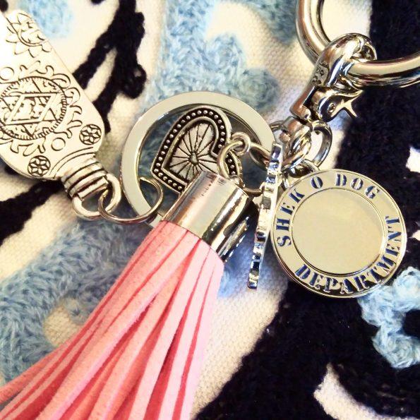 Hamsa Hand Keyrings (12 colors)