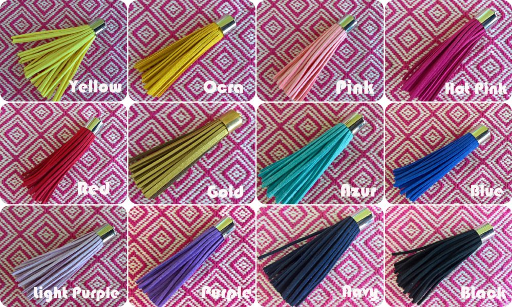 Tassels with names