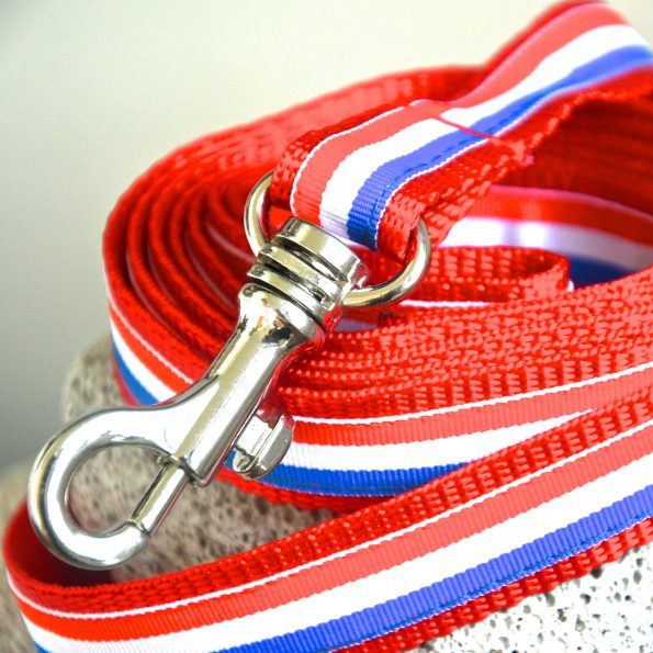 "Small Dog Leash ""Frenchie"""