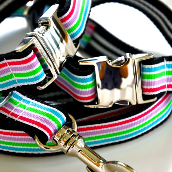 "Small Dog Collar ""Big Wave"" (25 – 35cm)"