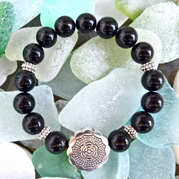 Charity Stone Bracelet – Black Onyx
