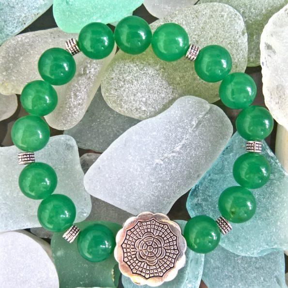 Charity Stone Bracelet – Green Aventurine