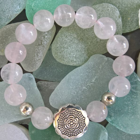 Charity Stone Bracelet – Rose Quartz