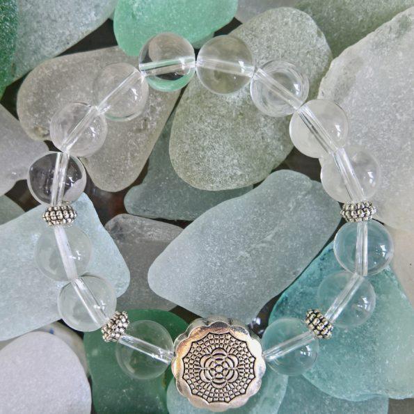 Charity Stone Bracelet – Clear Quartz