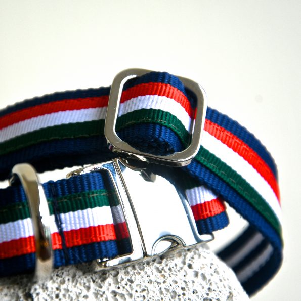 "Small Dog Collar ""Grazie!"" (25 – 40cm)"