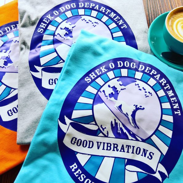 Shek O Dog Dpt Charity T-Shirts