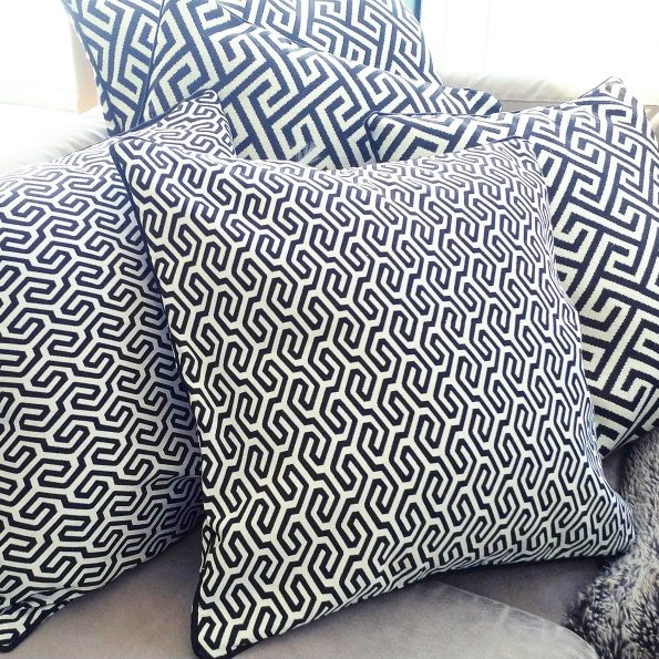 Cushion Covers / Duo Black & White