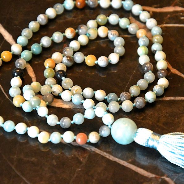 Charity Necklace – Multicolour Amazonite