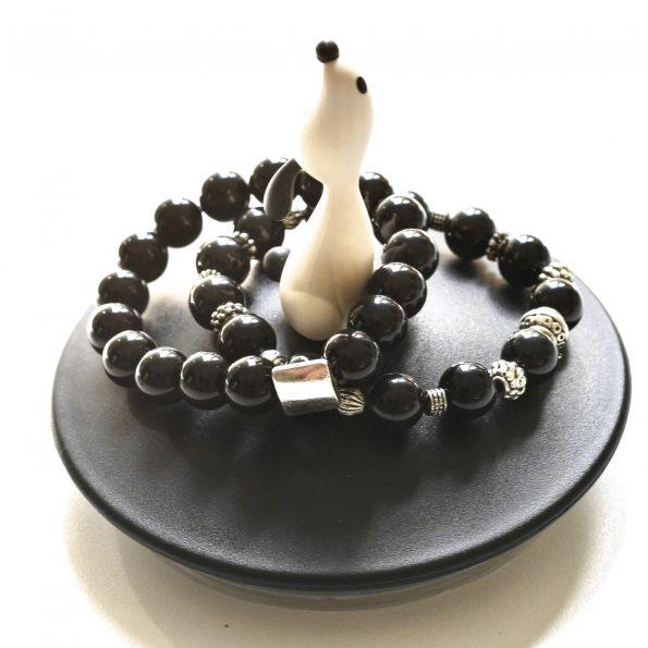 NEW! Charity Stone Bracelet – Onyx