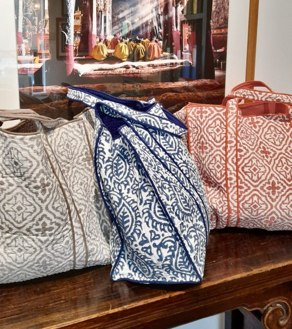Quilted Beach Bags